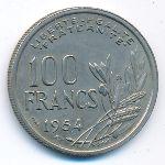 Франция, 100 франков (1954–1955 г.)