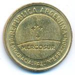 Аргентина, 50 сентаво (1998 г.)
