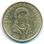 Аргентина, 50 сентаво (2000 г.)