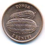 Тонга, 2 сенити (1975 г.)