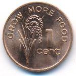 Фиджи, 1 цент (1981 г.)