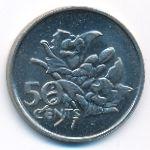 Сейшелы, 50 центов (1977 г.)