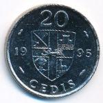 Гана, 20 седи (1995–1997 г.)