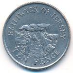 Джерси, 10 пенсов (2007 г.)