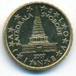 Словения, 10 евроцентов (2007–2019 г.)