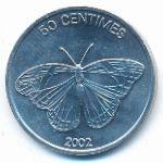 Конго, Демократическая республика, 50 сентим (2002 г.)