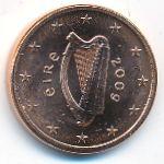 Ирландия, 1 евроцент (2002–2009 г.)