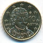 Греция, 10 евроцентов (2017 г.)