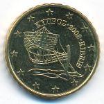 Кипр, 10 евроцентов (2008–2018 г.)