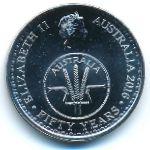 Австралия, 10 центов (2016 г.)