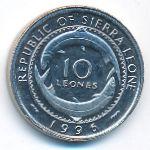 Сьерра-Леоне, 10 леоне (1996 г.)