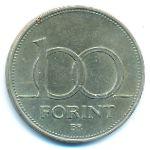 Венгрия, 100 форинтов (1995 г.)