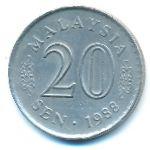 Малайзия, 20 сен (1988 г.)