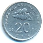 Малайзия, 20 сен (2002 г.)