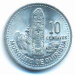 Гватемала, 10 сентаво (1989 г.)