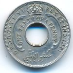 Британская Западная Африка, 1/10 пенни (1945 г.)