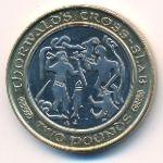 Остров Мэн, 2 фунта (2001 г.)