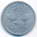 Новая Каледония, 2 франка (1977 г.)