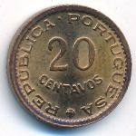 Мозамбик, 20 сентаво (1974 г.)