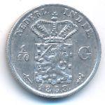 Нидерландская Индия, 1/10 гульдена (1858 г.)