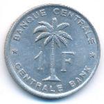 Руанда-Урунди, 1 франк (1959 г.)