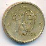 Швеция, 10 крон (1991–2000 г.)