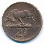 ЮАР, 2 цента (1970–1990 г.)