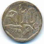ЮАР, 10 центов (2007 г.)