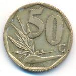 ЮАР, 50 центов (1996 г.)
