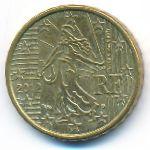 Франция, 10 евроцентов (2012 г.)