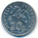 Новая Каледония, 20 франков (1992 г.)