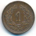 Швейцария, 1 раппен (1932 г.)