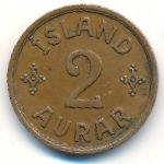 Исландия, 2 эйре (1942 г.)