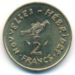 Новые Гебриды, 2 франка (1979 г.)