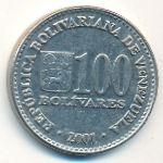 Венесуэла, 100 боливар (2001 г.)