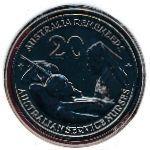 Австралия, 20 центов (2009 г.)