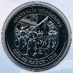 Австралия, 20 центов (2015 г.)