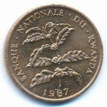 Руанда, 5 франков (1987 г.)