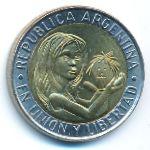 Аргентина, 1 песо (1996 г.)