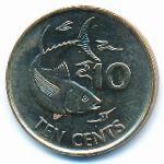 Сейшелы, 10 центов (2012 г.)