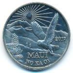 Гавайские острова, 2 доллара (2017 г.)