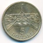 Австралия, 5 долларов (1988 г.)