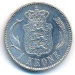 Дания, 1 крона (1916 г.)