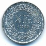 Швейцария, 1/2 франка (1999 г.)