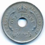Британская Западная Африка, 1 пенни (1916 г.)