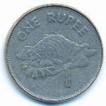 Сейшелы, 1 рупия (2007 г.)