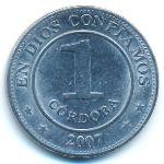 Никарагуа, 1 кордоба (2007 г.)