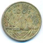 Французская Полинезия, 100 франков (2009 г.)
