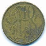 Эфиопия, 10 центов (2008 г.)
