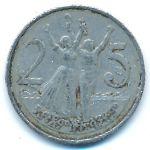 Эфиопия, 25 центов (1977 г.)